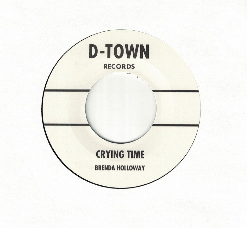 Brenda Holloway Crying Time Barbra Mcnair Forget You